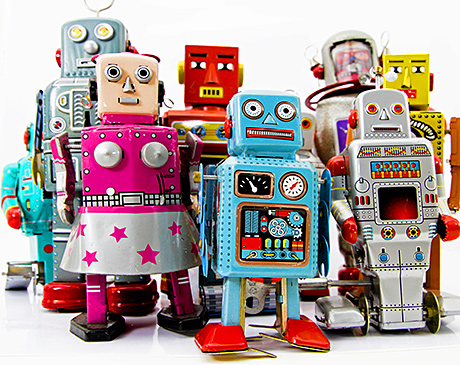 Robot sales have increased by a dramatic 68% over the last year,