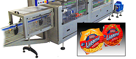 Kliklok's Certiwrap C150 sleeving machine