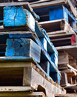 Tired and worn out pallets