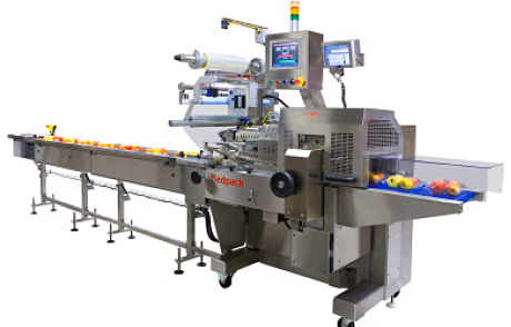 Redpack Packaging Machinery has won orders for a further five P325S-FI machines for flow wrapping apples without a tray.