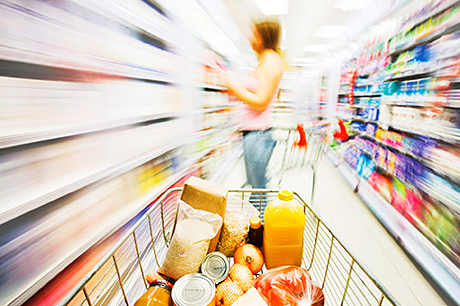 Decision paralysis: without structured packaging, consumers can be confronted by an undefined mass of images and colours.