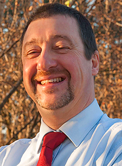 Stephen Cole: striving to make a difference.