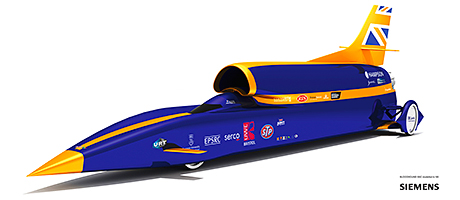 The Bloodhound SuperSonic Car will be a star attraction at IMHX in March.