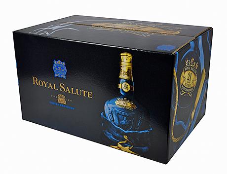 The royal salute