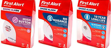 Smoke alarm package changes buyer behaviour