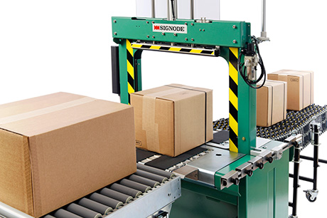 Signode has launched the SBM Series, a new generation of European-built strapping machines that is intended to offer customers higher productivity, simple operation combined with well proven technology and low cost of ownership