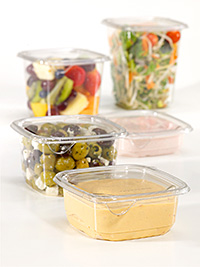 Tri-Star Packaging has launched a range of tamper-resistant containers intended to offer consumers complete confidence when buying salad and deli items out-of-home.