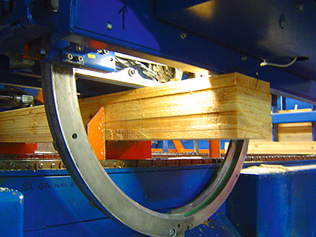 Scotland's largest independent sawmill company has installed three new strapping machines supplied by Mosca Direct