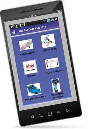 Avoiding barcode blunders: The CodeCalc smart phone app can help users identify their barcode type or spot faults in a barcode
