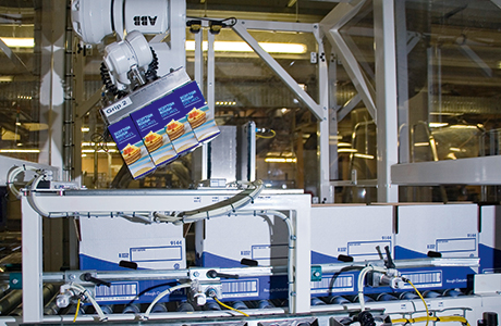 Automating the packing process has resulted in efficiency gains at Nairn's