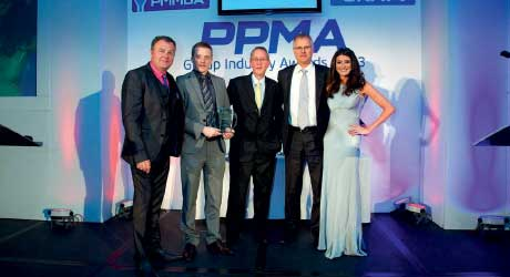 PPMA 2013 Exporter of the Year award