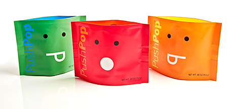 Winner of a Gold award at the 2013 Flexible Packaging Awards, Amcor's PushPop - developed by Amcor Flexibles - provides an easy open, convenient package.
