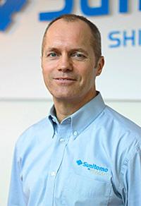 Kevin Heap of Sumitomo Demag