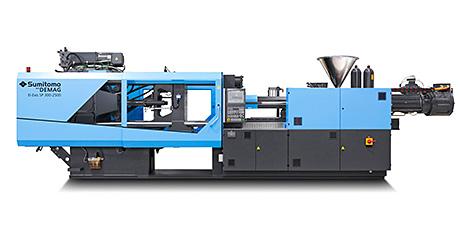 Sumitomo (SHI) Demag's El-Exis SP injection moulding machine.