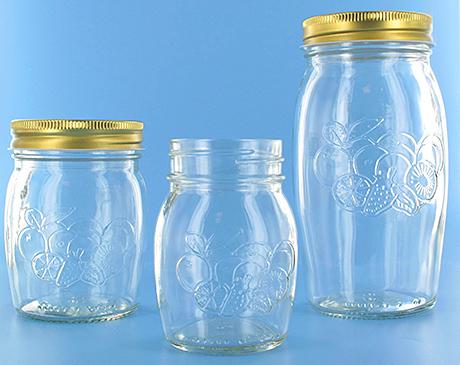 Embossed jars offer