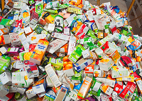 First UK drinks carton recycling plant