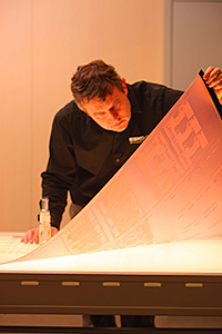 Flexography plate inspection