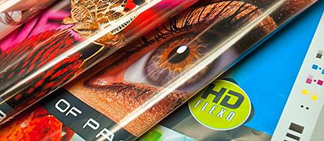 Samples produced using Esko's Full HD Flexo technology.