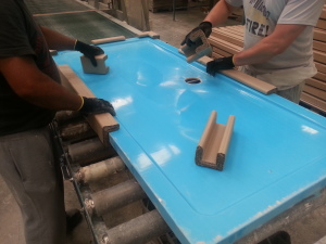 MX Group are now using corrugated packaging for their range of shower trays