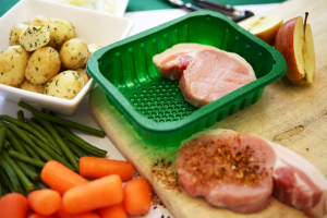 Foam trays fish and meat-rPETeCO 148