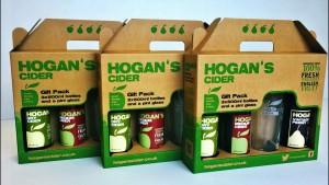 Hogans Cider packaging - Starpack Gold Award winner
