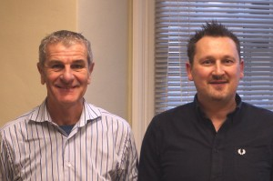 Nigel Down and John Shipley