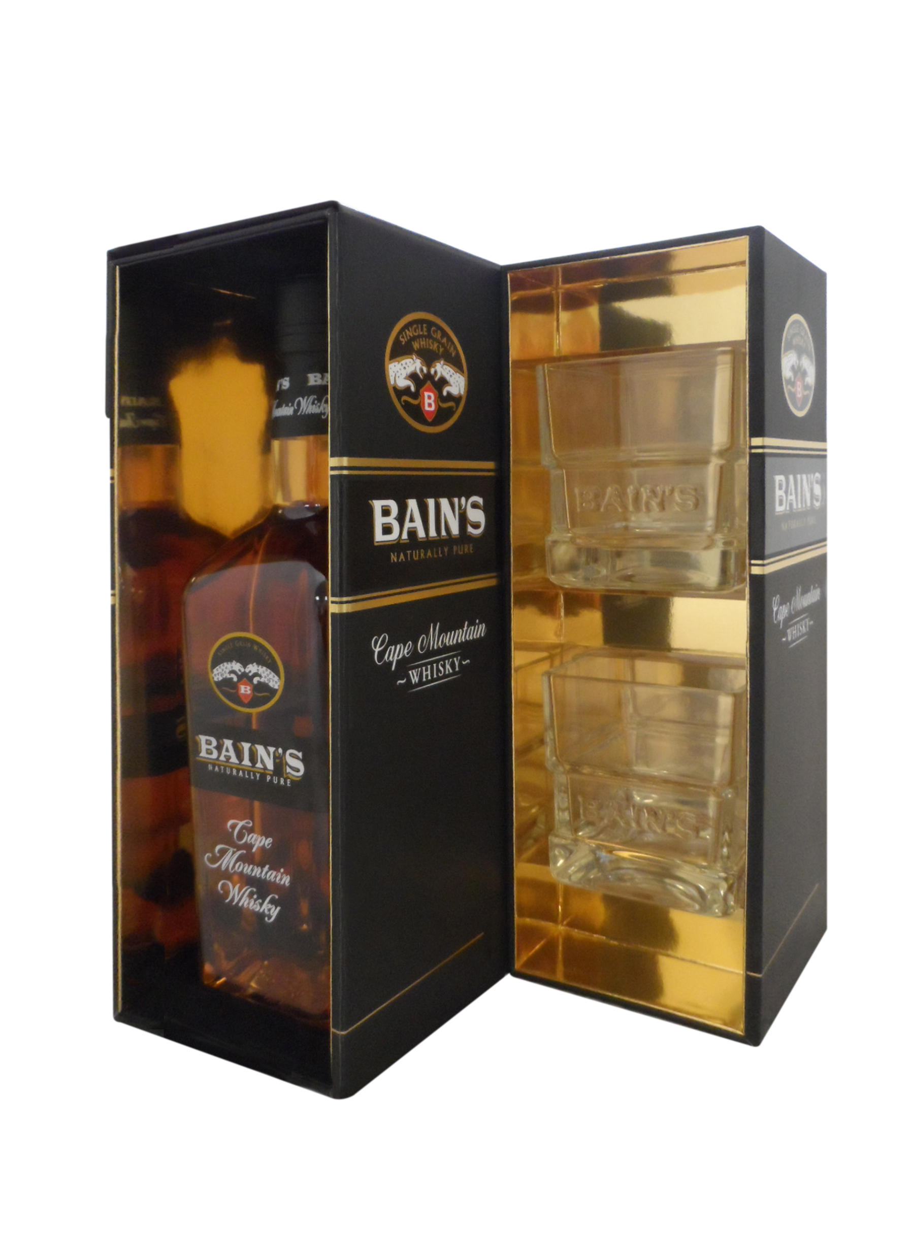 Pps packs are a hit in south africa packaging scotland for Bain s cape mountain whisky