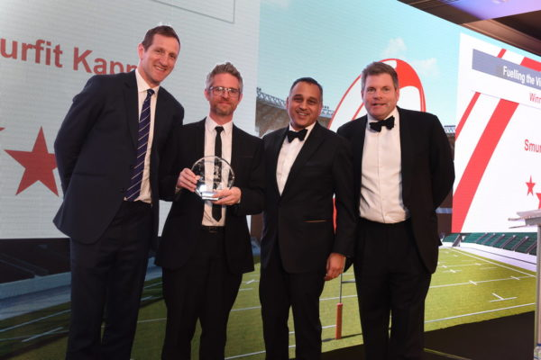 Teamwork pays off for Smurfit Kappa with top supplier award