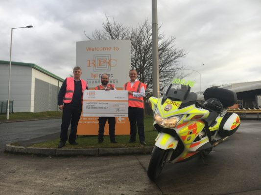 RPC bpi protec gets on its bike for charity