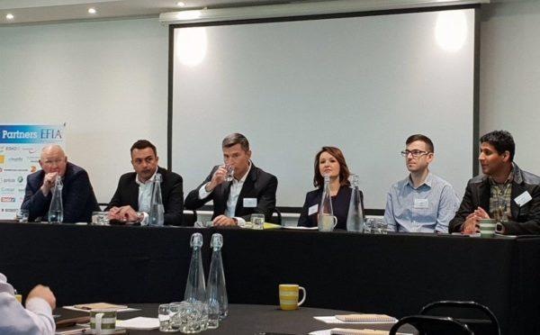 Tough topics debated at EFIA breakfast meeting