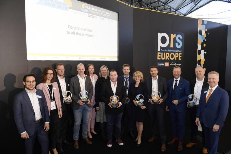 Seven in heaven: Plastics Recycling Awards Europe 2019 winners revealed
