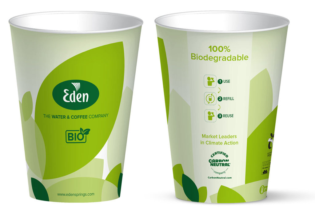 New reusable BIO cup from Eden Springs