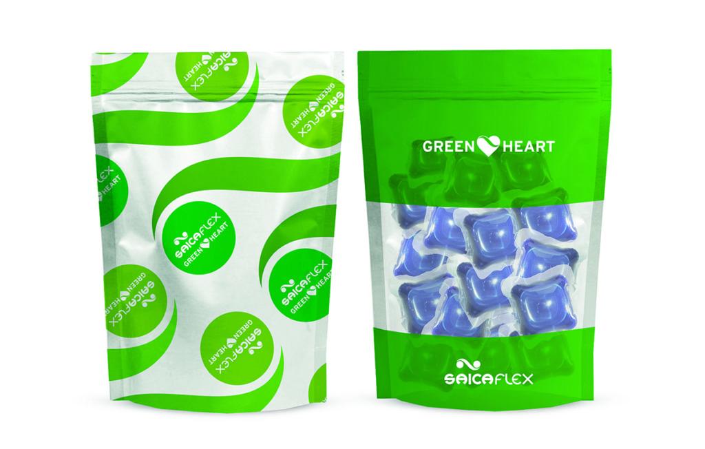 green heart packaging