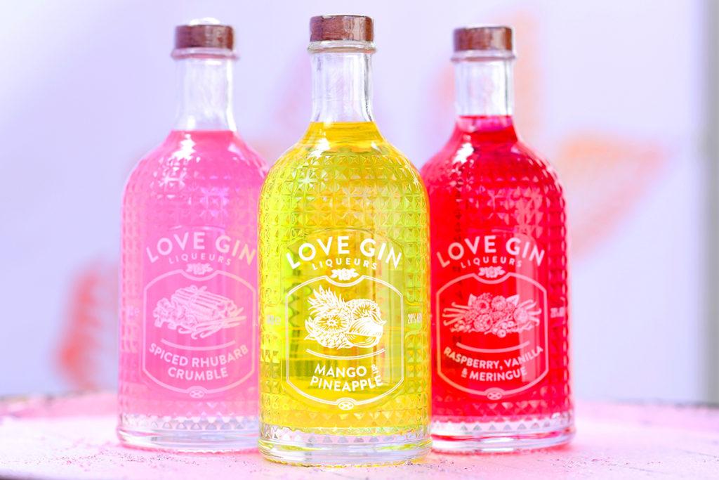 Eden Gin bottles