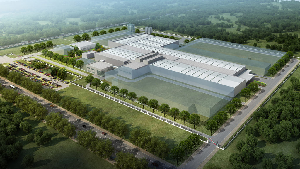 production plant in Suzhou, China