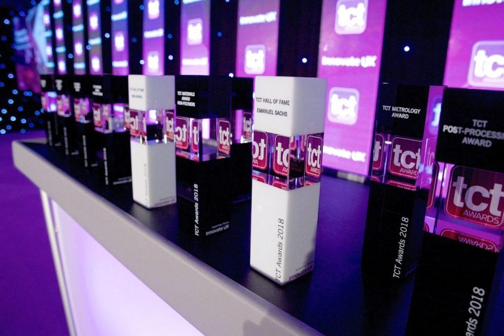 TCT awards trophies