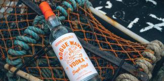 rogue wave vodka bottle