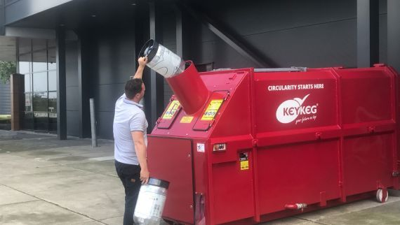KeyKeg recycling service