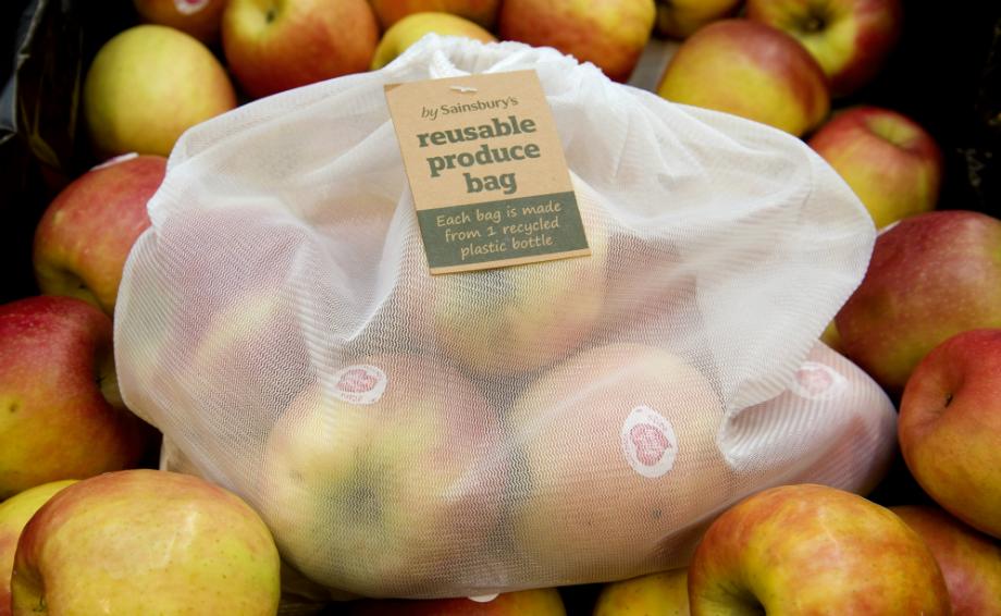 sainsburys reusable produce bag
