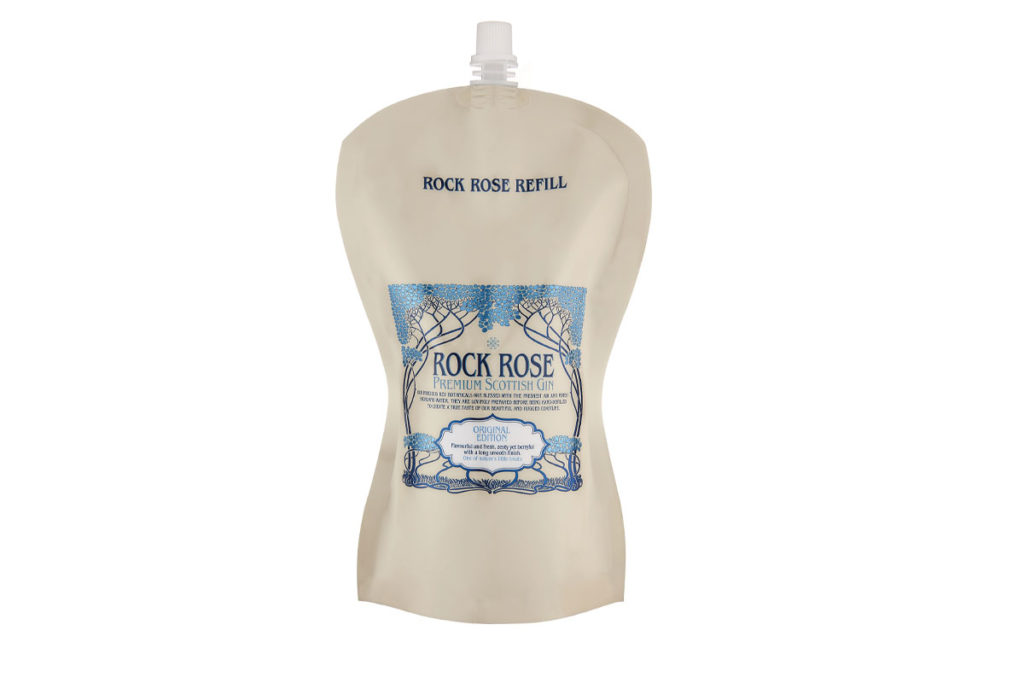 Rock Rose Gin's new refill pouches