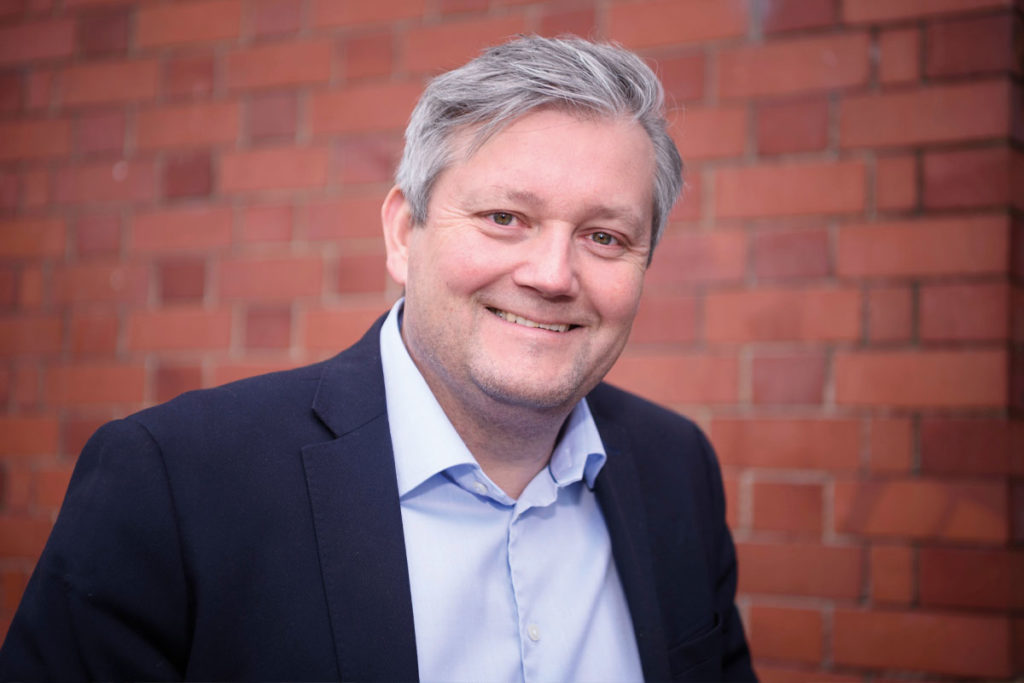 Truls Haug, MD for TOMRA Collection Solutions UK & Ireland