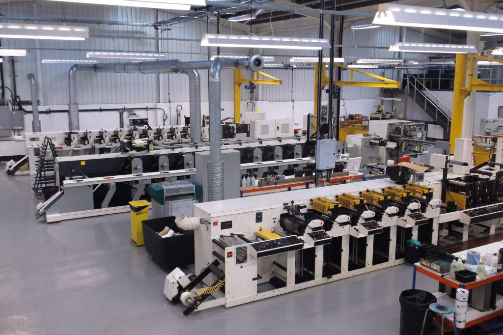 label printing factory