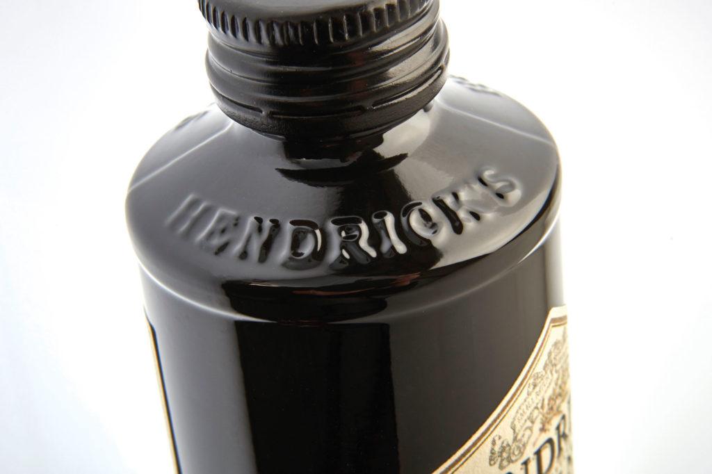 Hendricks gin bottle