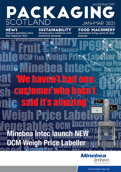 Packaging Scotland front cover January - March 2021